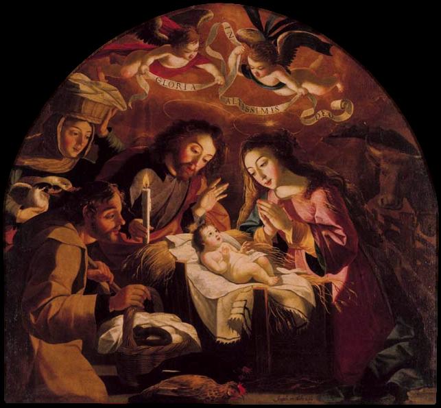 Adoration des Bergers (Musée National d'art antique Lisbonne)