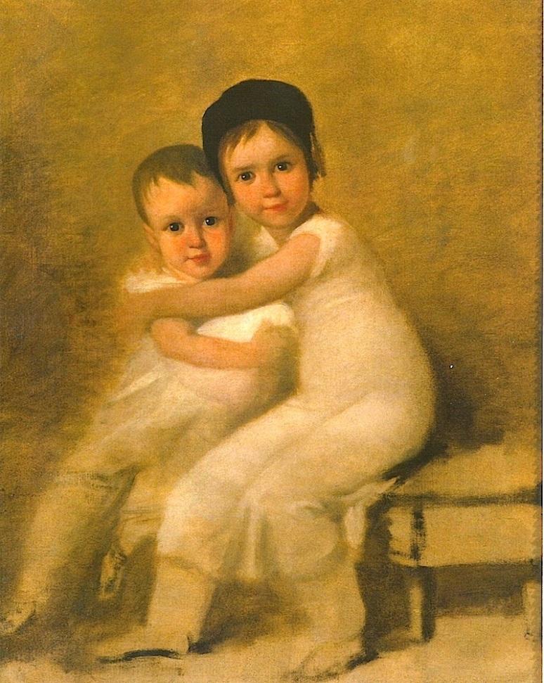 Retrato dos filhos do pintor, Museu Nacional de Arte Antiga, Lisboa (1815-16)