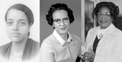 Da esquerda para a direita: Dorothy Vaughan, Katherine Johnson e Mary Jackson/Foto: NASA